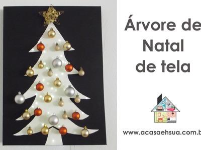 Árvore de Natal - DIY