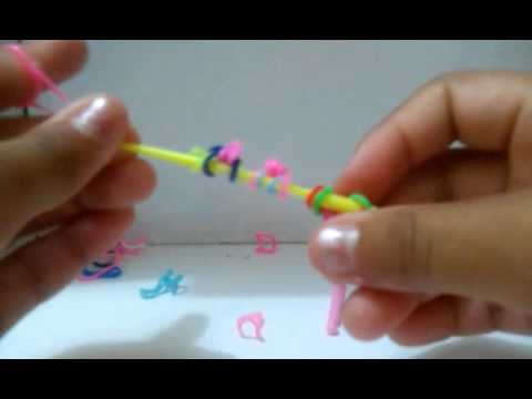 Tutorial: Osso de elásticos Rainbow Loom