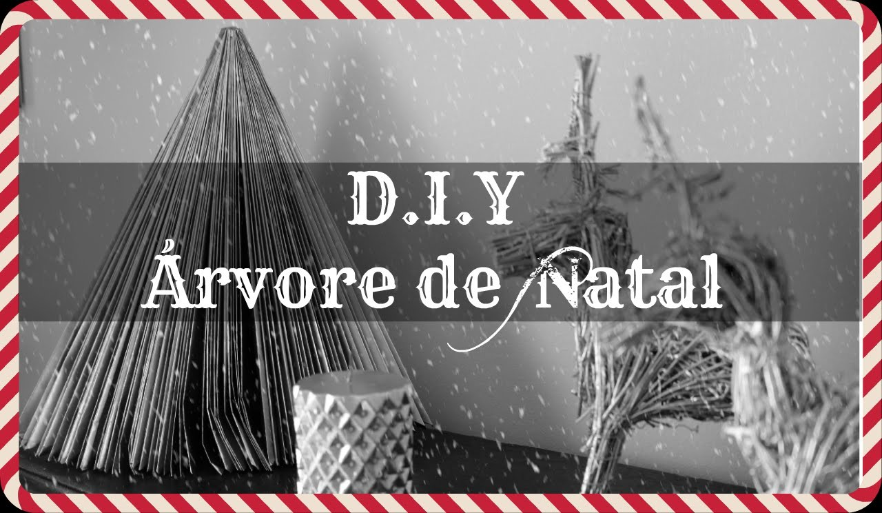 D.I.Y Árvore de Natal | Série ❆ Natal 2015 Ep.2 | Be Creative Be You