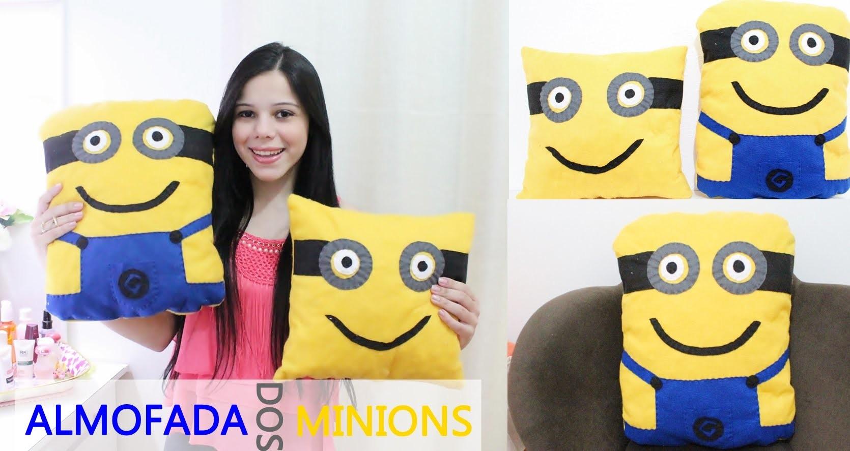 DIY:  Almofada dos Minions