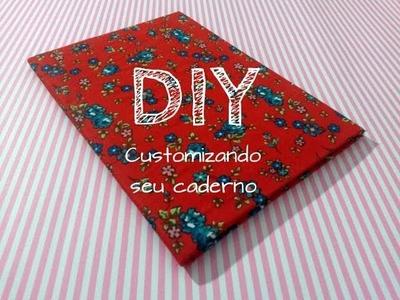 DIY: CUSTOMIZAÇÃO DE CADERNO de forma prática e rápida! - por Garota VintaGeek