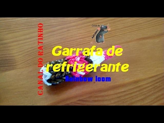 Garrafa de refrigerante (rainbow loom)