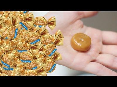 DIY: Como fazer bala de caramelo no micro-ondas | Butter Toffees