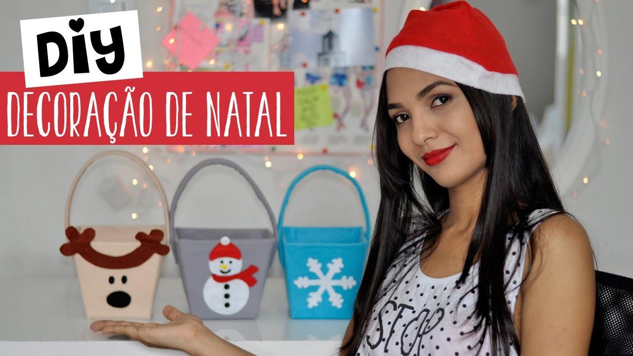 Diy Decoração de Natal - Decor Christmas