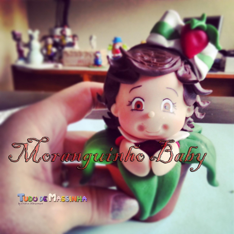 Aula de Biscuit - Moranguinho Baby