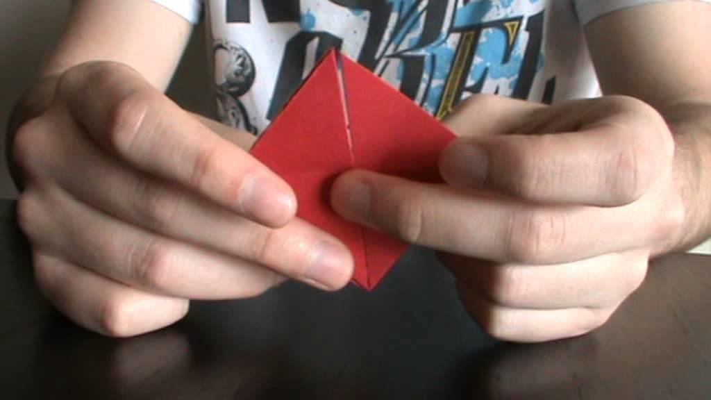 Como fazer um Origami em forma de Coração (Heart)