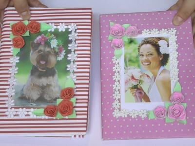 DIY   Caderno decorado