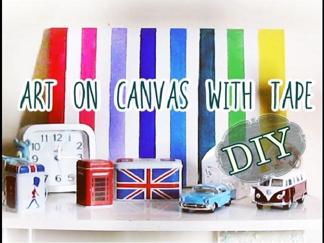 DIY: Canvas Art | Arte em tela (Faça você mesmo)