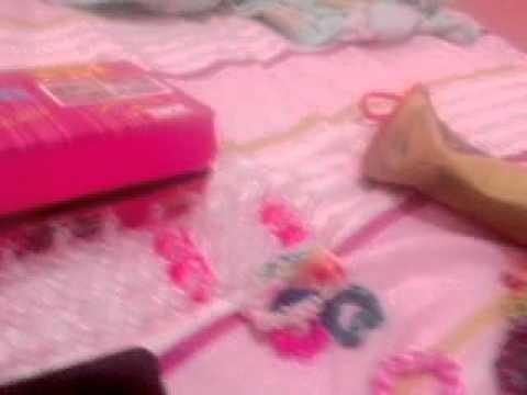 Todas as minhas coisas de Rainbow Loom