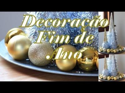 DIY - Decoração - Festa de Fim de Ano - Bem baratinho!!!