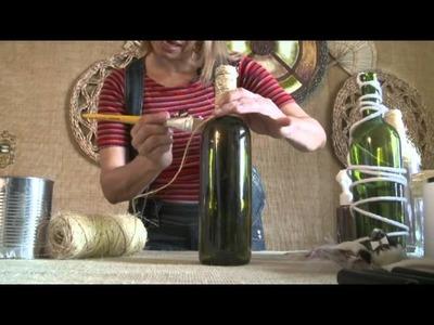 Marie Araújo - Decoração de um casamento sustentável (Vídeo 1)