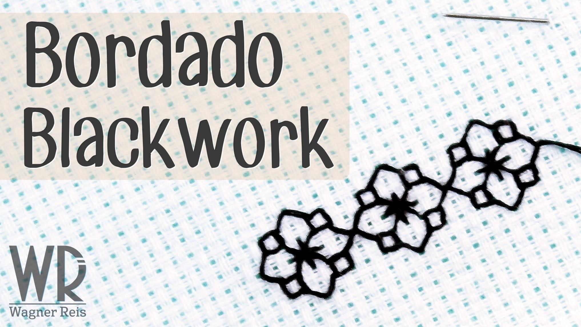 Bordado Blackwork - Tutorial completo