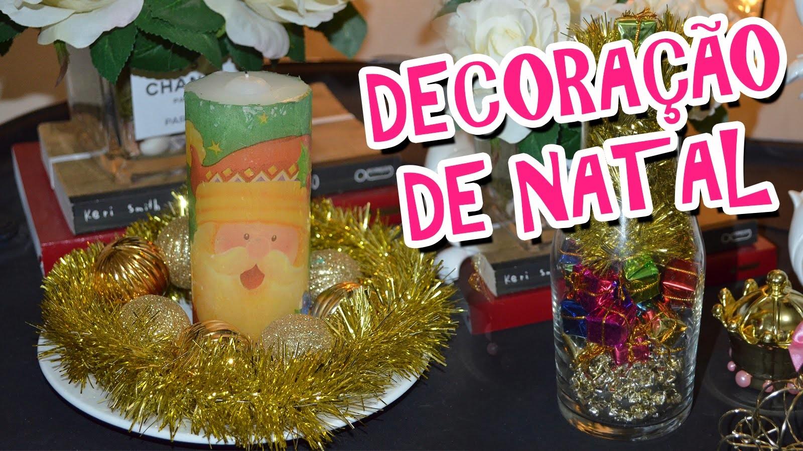 DIY DECORAÇÃO DE NATAL LINDA, FÁCIL E BARATA | URSULA ANDRESS