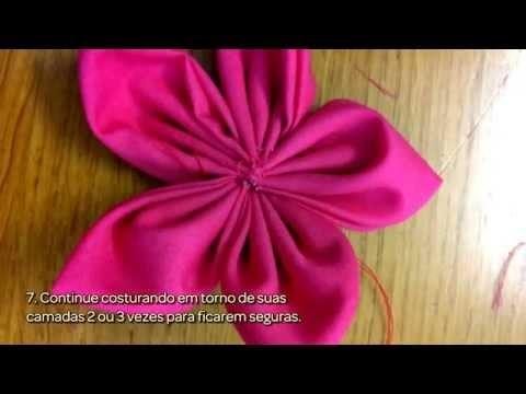 Faça Coloridas Flores de Tecido - Faça Você Mesmo Artesanato - Guidecentral