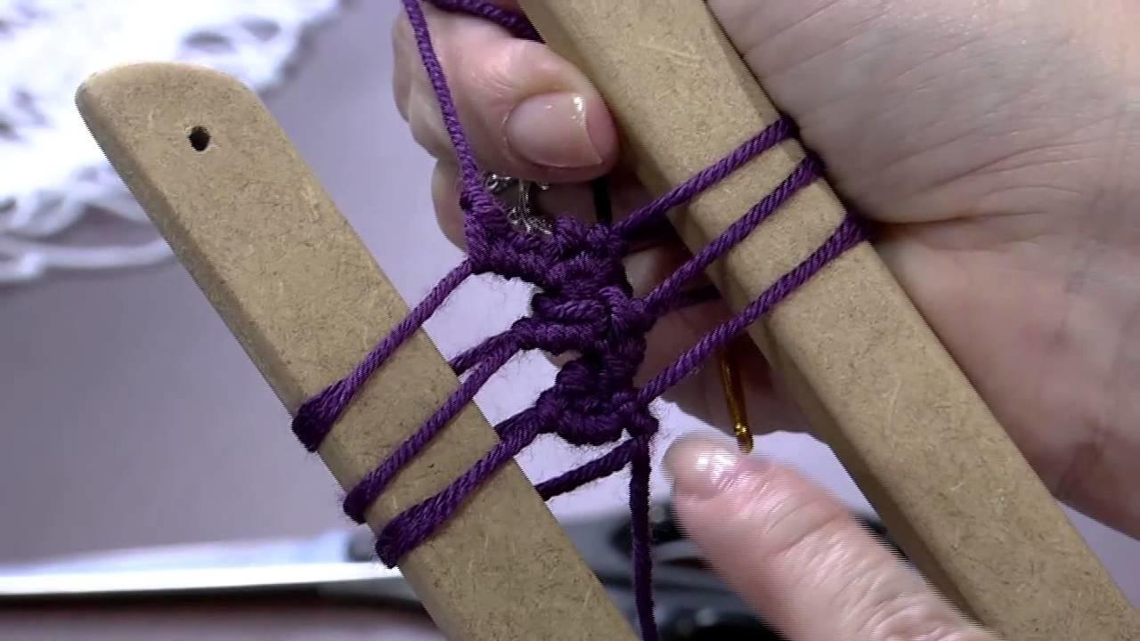 Mulher.com 01.06.2015 Helen Mareth - Cropped inverno crochê de grampo Parte 1.2