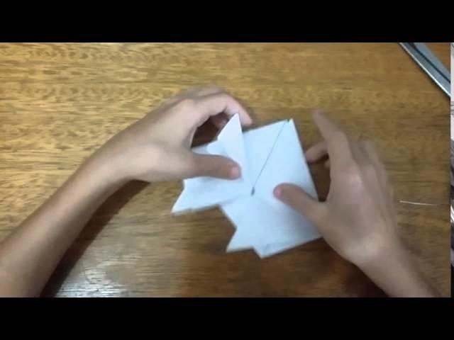 Como Fazer Sapo De Papel - Origami