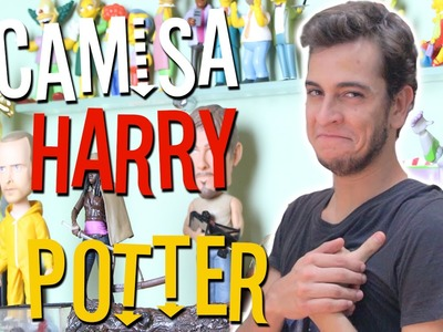 CAMISA DO HARRY POTTER - Victor Lamoglia