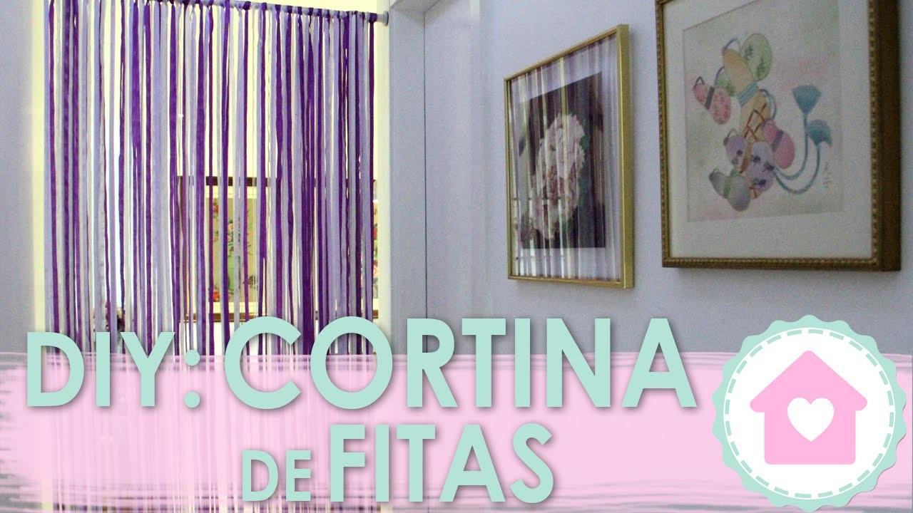 DIY Cortina de Fitas - wFashionista