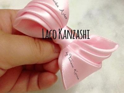 Laço Kanzashi 1 by Tatiana Karina