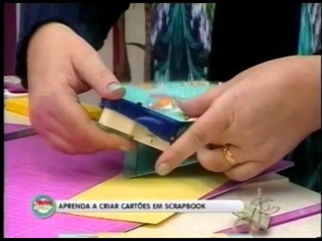 SCRAP ULLA NOGUEIRA: CRIAÇÃO DE CARTÕES (SCRAPBOOK)