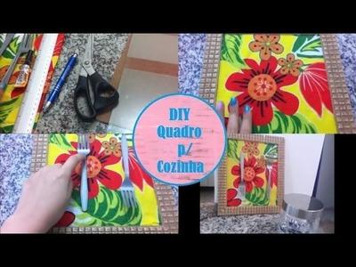 DIY: Quadro para Cozinha