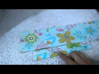 Faixa de tecido para cabelo estilo turbante