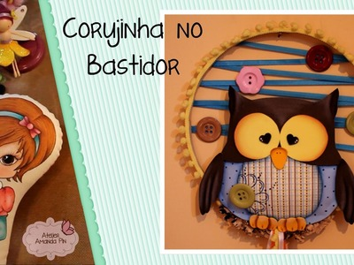 DIY - Corujinha by Amanda Pin