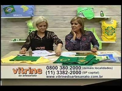 Fast Patch especial Brasil com Valéria Souza - Vitrine do Artesanato na TV