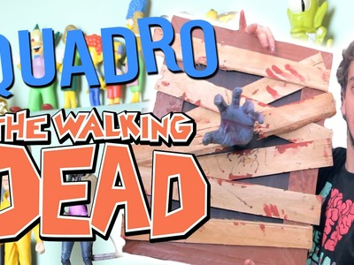 QUADRO DE THE WALKING DEAD - Victor Lamoglia