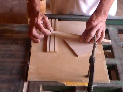 Artesanato movel porta joias parte 1