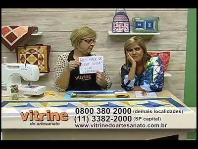 Caminho de Mesa Cata Vento com Ana Cosentino - Vitrine do Artesanato na TV
