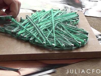 DIY: 2 Idéias de Decoração para o Quarto, fácil e barata | #decorandocompouco