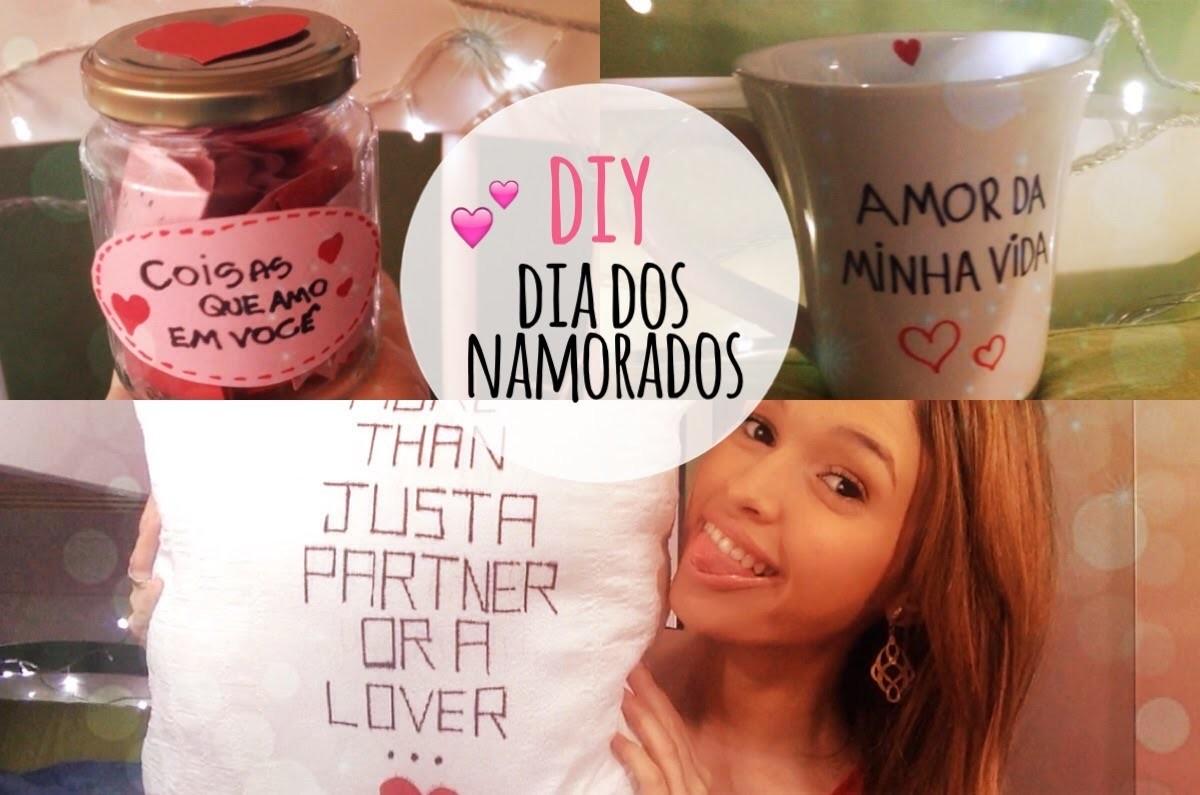 DIY: 3 ideias pro dia dos namorados!