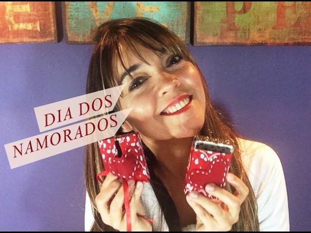 DIY | Caixinha-cartão de Dia dos Namorados | Tutorial Cris Cardoso