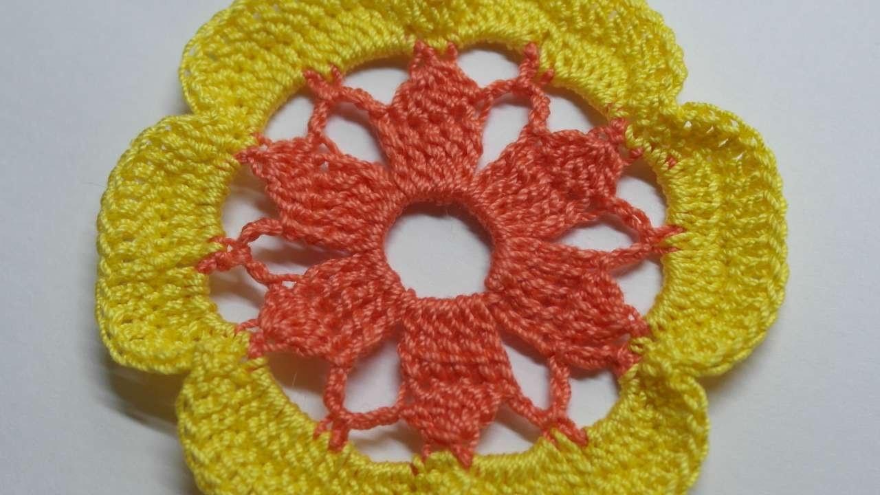 Faça um Motivo Floral em Crochê - Faça Você Mesmo Artesanato - Guidecentral