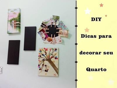 DIY Dicas para decorar seu quarto -#MeiTD21