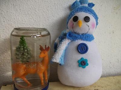 DIY: Faça voce mesma um lindo Boneco de neve