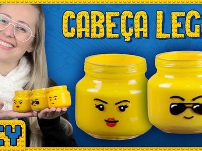 Cabeça Lego - DiY Geek