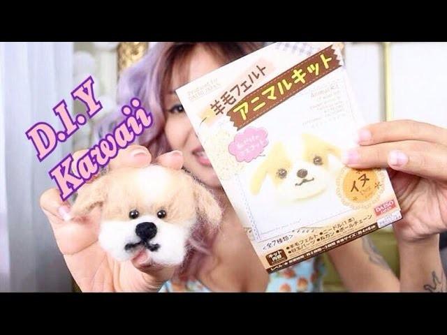 D.I.Y Cachorrinho de Feltro - Kawaii Japan