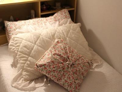 D.I.Y: Capas de almofadas sem costura | Faça vc mesma