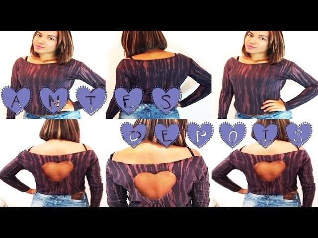 DIY ♥ | Customização de Blusa, super simples | Cara nova para aquela blusa velha e sem graça