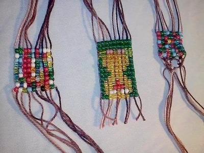 DIY: Como fazer tear para pulseiras ou colar de miçangas