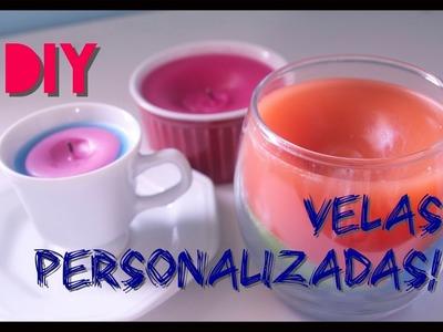 DIY - Velas Personalizadas