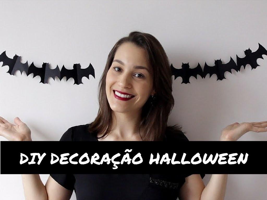 DIY | Decoração fácil e barata para o Halloween