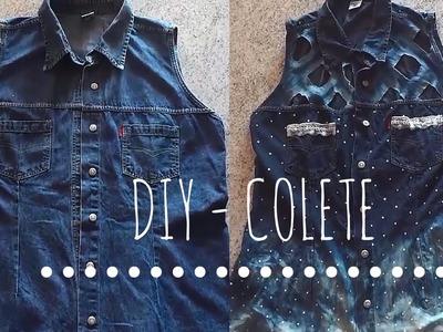 DIY  - Faça vc mesma customização de roupas