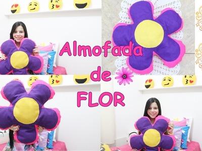 DIY: Almofada de Flor - Muito Fácil
