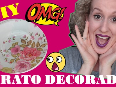 DIY: Prato Decorado