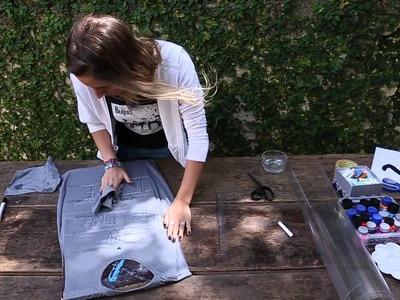 DIY - 3 maneiras de fazer camiseta com frase