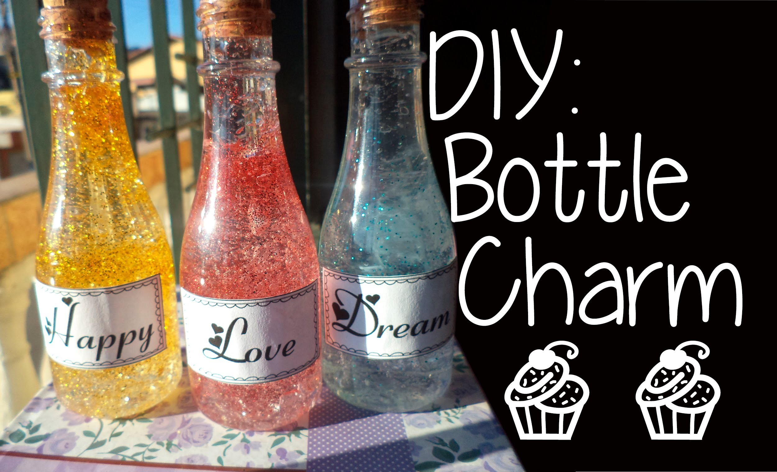 DIY: Bottle Charm  | Luana Matos