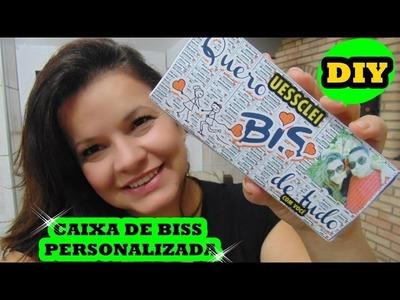 DIY: CAIXA DE BISS PERSONALIZADA- PAULA FRANSSINETTE